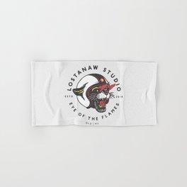Eye of the flames Hand & Bath Towel