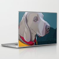 jake Laptop & iPad Skins featuring Jake Dog by Kelli Holtman