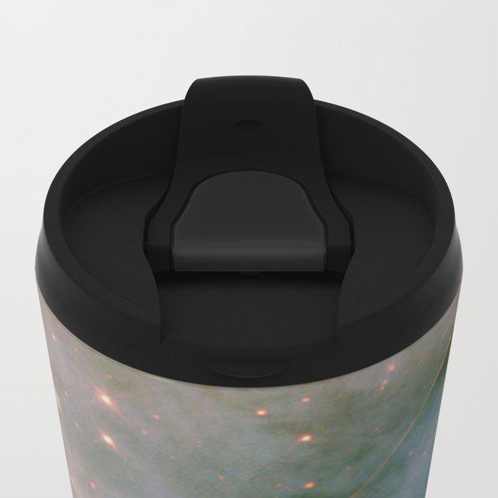 SPARKLING MILKY WAY GALAXY #2 Metal Travel Mug
