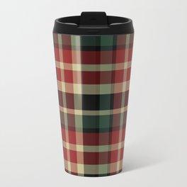Holiday Plaid 20 Travel Mug