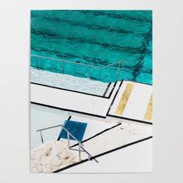Bondi Icebergs Club III Nautical Geometry Poster