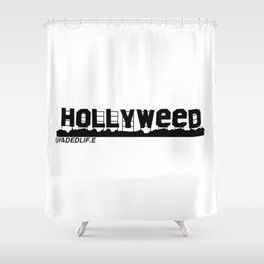 HOLLYWEED Shower Curtain