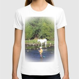 Fishing for Horses? T-shirt