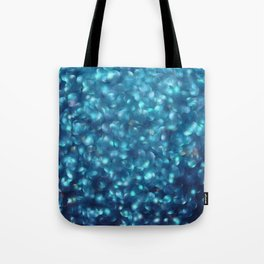 Blue Sparkles Tote Bag