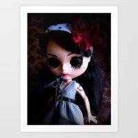 Blythe Winehouse Art Print