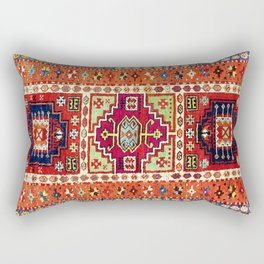 Erzincan  Antique Turkish Rug Print Rectangular Pillow