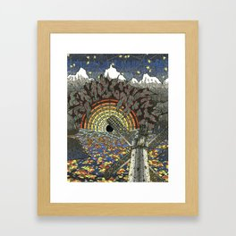 CHINACAT GENERATOR Framed Art Print