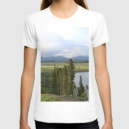 Yellowstone River Valley View T-shirt