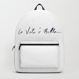 La vita è bella - Life Is Beautiful Backpack