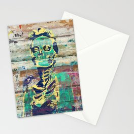 Life and Dead (Sugar Skull Girl) Stationery Cards