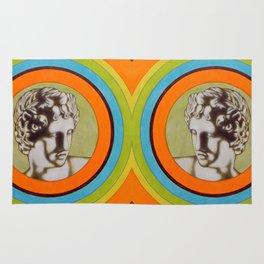 Apollo alla Galleria degli Uffizi Rug