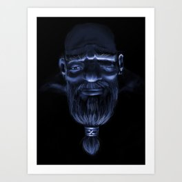 Wise Nomad Art Print