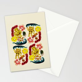 Party Tiki Stationery Cards
