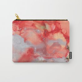 Alcohol Ink 'Big Red' Carry-All Pouch