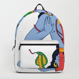 Shiva Gottheit Backpack