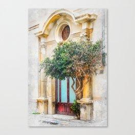 Trapani art 4 Canvas Print