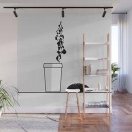 Best company: coffee and bun Wall Mural