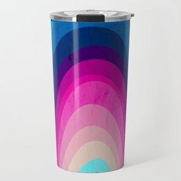 Woodwork Rainbow Tree Travel Mug