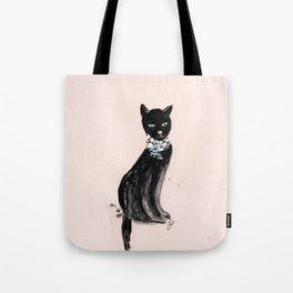 Spoiled Kitty Lifestyle Illustration Tote Bag