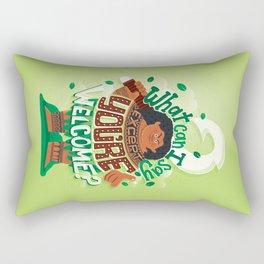 Hero to all Rectangular Pillow