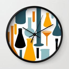 Laboratory Glassware No. 2 Wall Clock