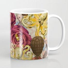 octopus floral Coffee Mug