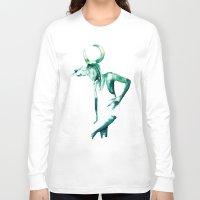 taurus Long Sleeve T-shirts featuring Taurus  by Leona Beth