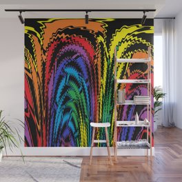 Tossing the Rainbow Wall Mural