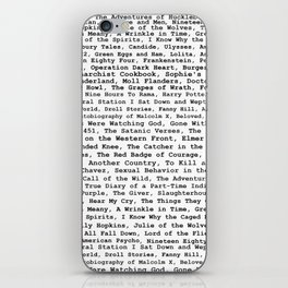 Banned Literature Internationally Print iPhone Skin