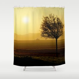 Autumn Silhouette 3 Shower Curtain