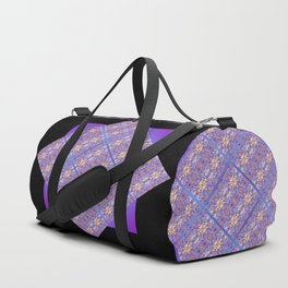 Fluid Abstract 07 Duffle Bag