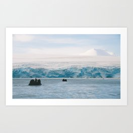 To the Berg Art Print
