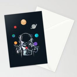 Space Circus Stationery Cards