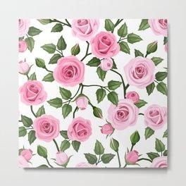 Flowers seamless patterns 20 Metal Print