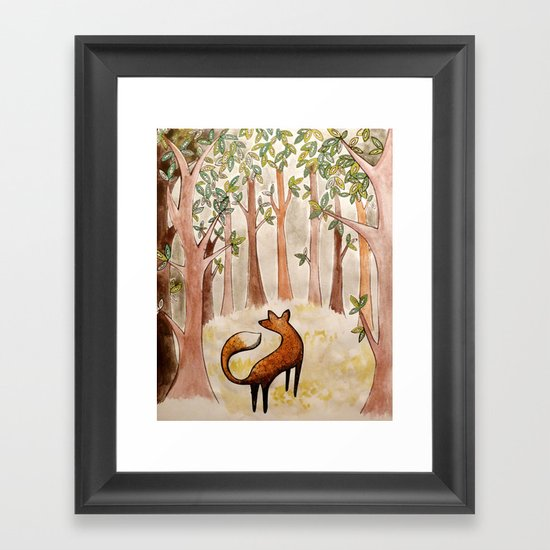 Their eyes were everywhere... Framed Art Print