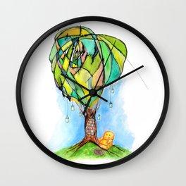 A Bookworm's Dream Wall Clock