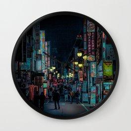 Tokyo Nights / Kabukicho Nights / Liam Wong Wall Clock