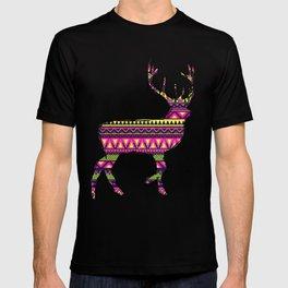 Deer Navajos pattern T-shirt