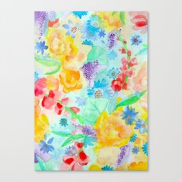 Summer Garden Canvas Print