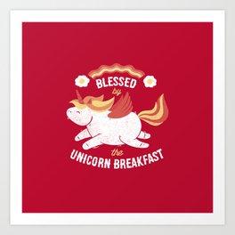 Bacon Breakfast Art Print