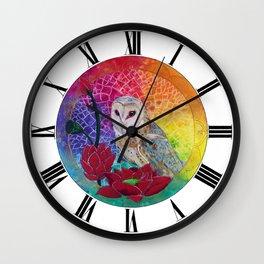 Lakshmi's Vahana ( Bird Whisperer Project Owl ) Wall Clock