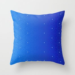 Night Sky Damask Throw Pillow