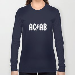 ACAB # BLACK & WHITE Long Sleeve T-shirt