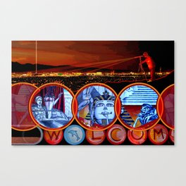 Sin City Canvas Print