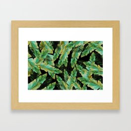 Lost In The Palms II Framed Art Print