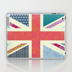 UK Beauty flag Laptop & iPad Skin