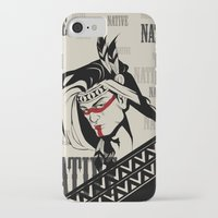 native american iPhone & iPod Cases featuring Native by memo_alatouly