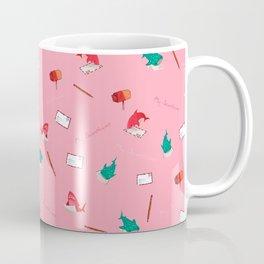 Pink Shark and Whale Shark Coffee Mug