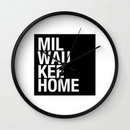 MilwaukeeHome Wall Clock