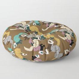 Mustelids are the best antidepressants #8 Floor Pillow